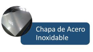 CHAPA DE ACERO INOXIDABLE